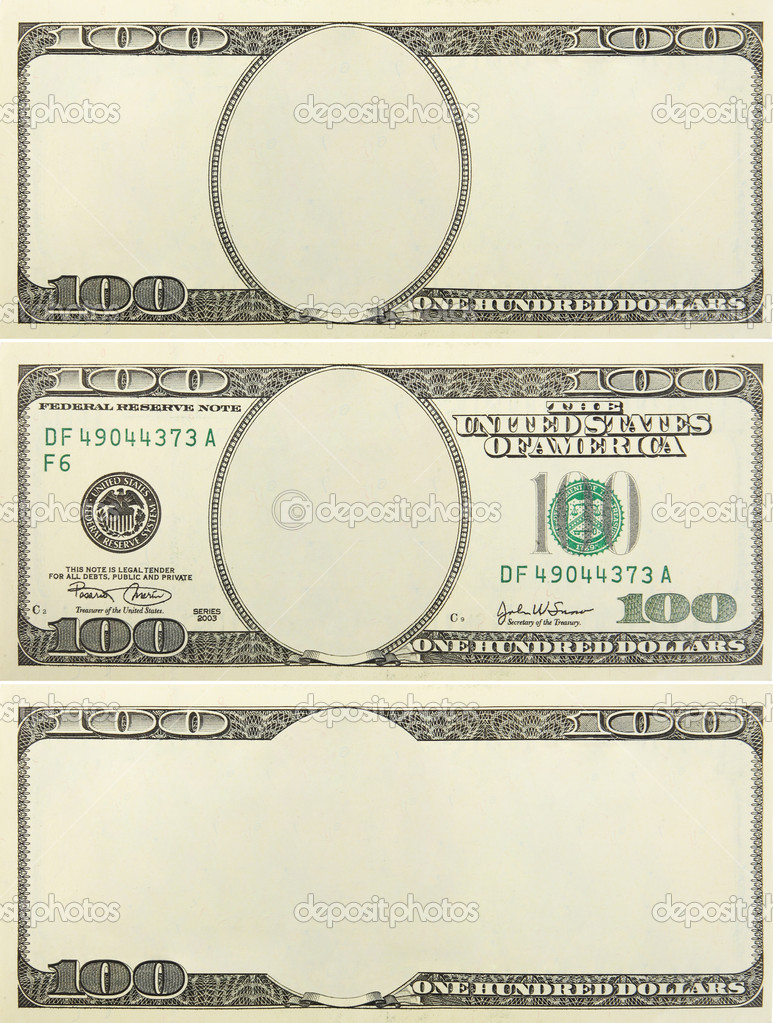 Set Of Blank Money Background For Design Stock Photo Scratch 7961406