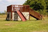 Slide playground — Stock Photo