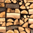 Pile of chopped fire wood — Stock Photo #7630091