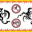 Royalty-Free Stock Imagen vectorial: Dragon