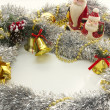 Foto de Stock  : Christmas luxury frame