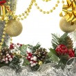 Christmas luxury frame — Stock Photo #7944358