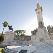 Stock Photo: Monument to Cortes de Cadiz