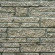 Detail of unique chimney or wall brickwork - Stock Photo