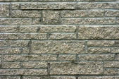 Detail of unique chimney or wall brickwork — Stock Photo