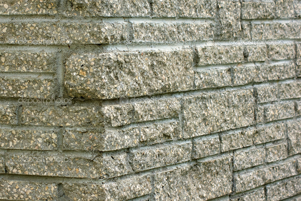 Detail of unique stone chimney brickwork. — Stock Photo #6867605
