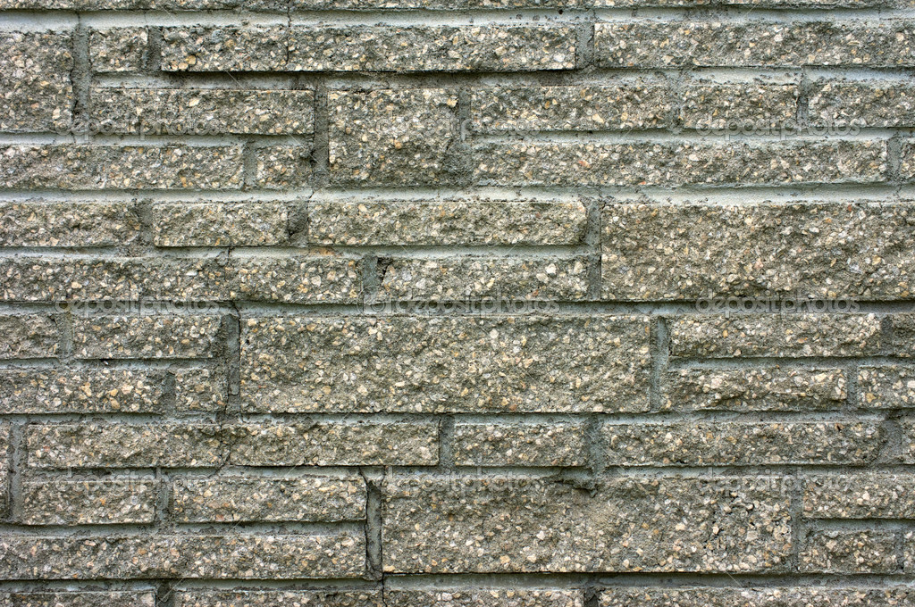 Detail of unique stone chimney or wall brickwork. — Stock Photo #6867630