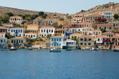 Halki island architecture — Stock Photo