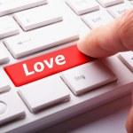 Love on key — Stock Photo