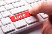 Amor en clave — Foto de Stock