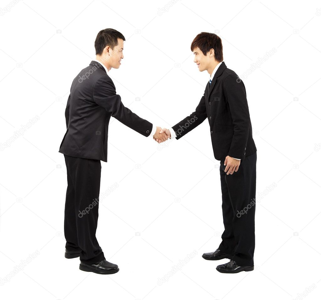 33 people meet and shake hands