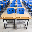 Empty  classroom at school - Stock Photo