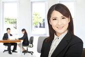 Beautiful businesswoman in office — Foto de Stock