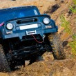 Stock Photo: off roading thrill