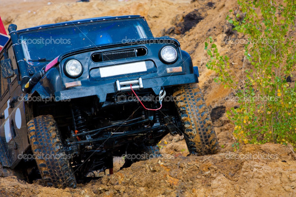 Off roading thrill — Stock Photo #7179297
