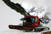 Ośrodek narciarski na Kaukazie. Dombay — Zdjęcie stockowe