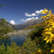 Autumn in the Caucasus, Badukskie Lake, the Caucasus — Lizenzfreies Foto