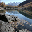 Badukskie lake Caucasus — Stockfoto