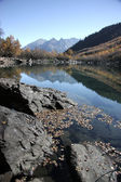 Badukskie lake Caucasus — Stock Photo