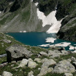 Alpine Lake Alpine latitudes — Stock Photo