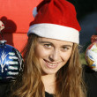 Girl christmas — Stock Photo #7808301