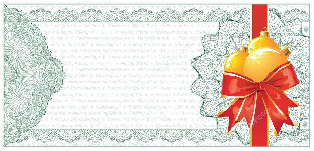Doc585315 Christmas Gift Vouchers Templates Christmas Gift – Christmas Gift Certificates Templates