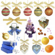 Stock Photo: Christmas collection / isolated objects / XXXL size