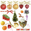 Christmas collection / isolated objects / XXXL size — Foto Stock #7554396