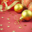 Christmas Background / Holiday Decorations — Stockfoto