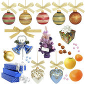 Christmas collection / isolated objects / XXXL size — Stock Photo