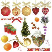 Christmas collection / isolated objects / XXXL size — Stockfoto