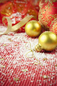 Christmas Background / Holiday Decorations — Stock Photo