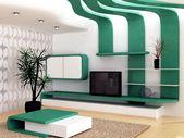 Modern apartment — Stock Photo