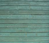Deski ogrodzenia zielony malowane drewniane drewno — Zdjęcie stockowe