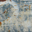 Stock Photo: Grunge blue white rusty metal with leak drip