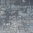 Crackled blue gray white paint grunge surface — Stock Photo