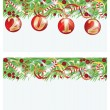 Set New 2012 year banners, vector illustration — Stock Vector