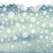 Winter banner, vector illustration — Stock Vector #7734859