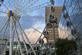 Manchester ferris wheel. — Stock Photo