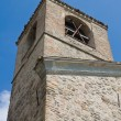 Stock Photo: St. Lorenzo Belltower. Torrechiara. Emilia-Romagna. Italy.