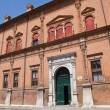 Magnanini- Roverella Palace. Ferrara. Emilia-Romagna. Italy. — Stock Photo
