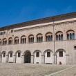 Bishop's palace. Parma. Emilia-Romagna. Italy. — Stock Photo
