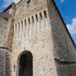 Stock Photo: TorrechiarCastle. Emilia-Romagna. Italy.