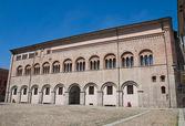 Bishop's palace. Parma. Emilia-Romagna. Italy. — Stock Photo