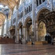 Interior Cathedral. Parma. Emilia-Romagna. Italy. — Photo
