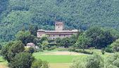 Montechiaro zamku. rivergaro. emilia-romania. włochy. — Zdjęcie stockowe