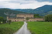 Golaso castle. Varsi. Emilia-Romagna. Italy. — Stock Photo