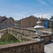 Panoramic view of Colorno. Emilia-Romagna. Italy. — Stock Photo