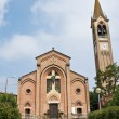 St. MariAssuntchurch. Gropparello. Emilia-Romagna. Italy. — Stock Photo #7443328
