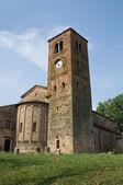 St.Giovanni church. Vigolo Marchese. Emilia-Romagna. Italy. — Stock Photo